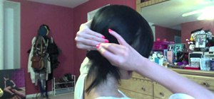 Give yourself the twisted side ponytail hairstyle