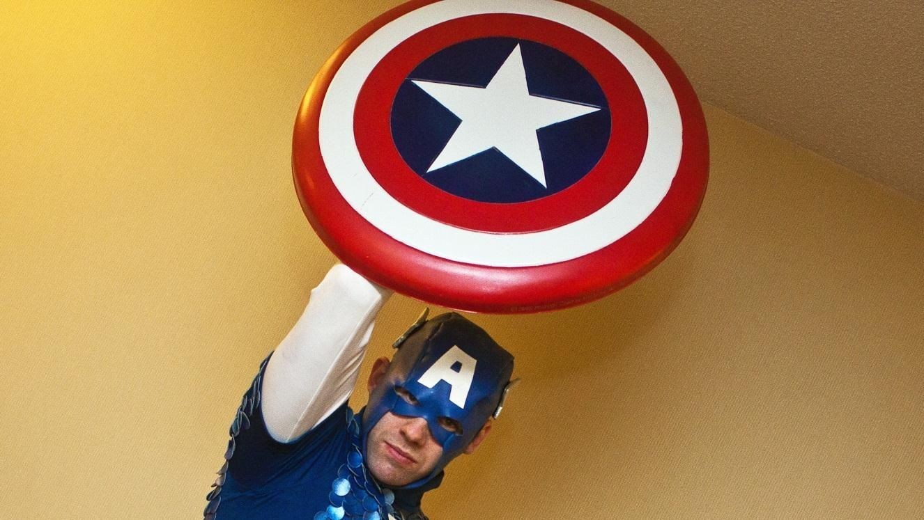 Complete Your Captain America Avengers Costume with One of These DIY Shields