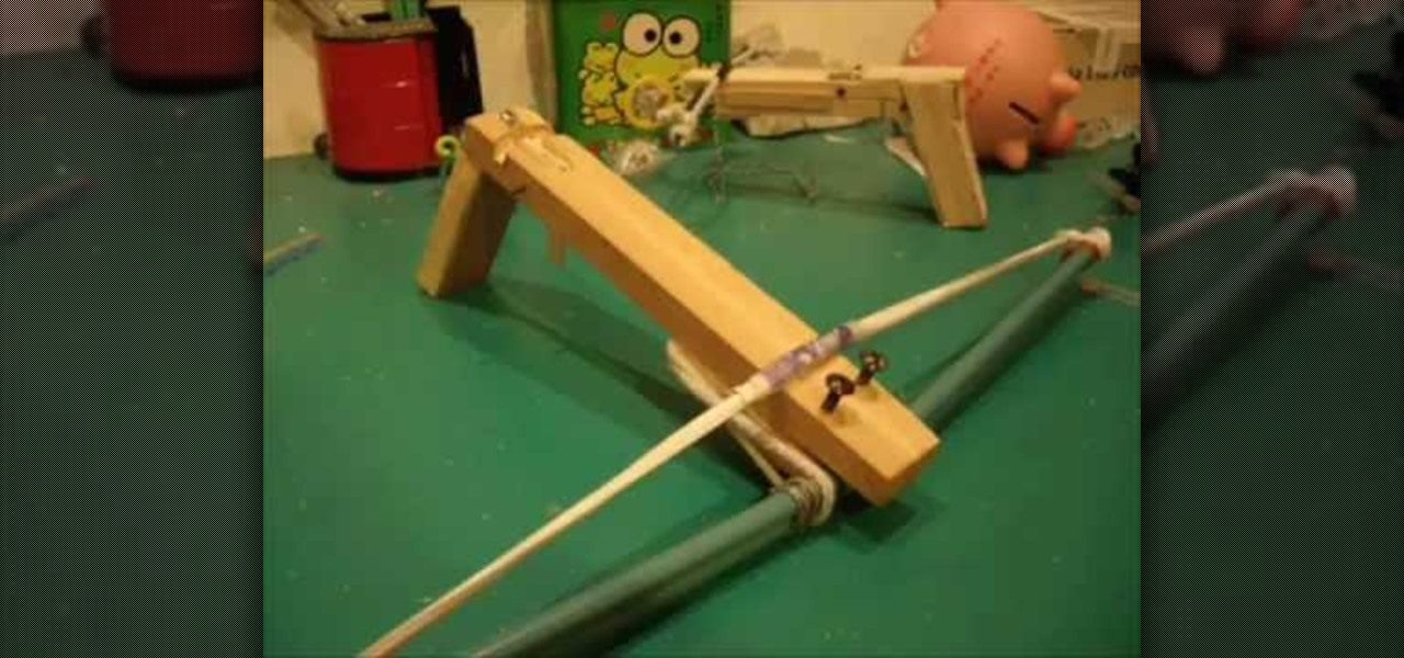 Cool Weapons To Make How to Easily make a homemade