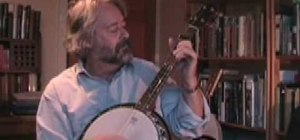 "Play ""The Little Beggarman"" on the banjo"