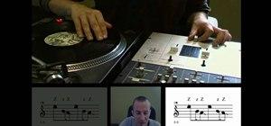 DJ the butterfly scratch