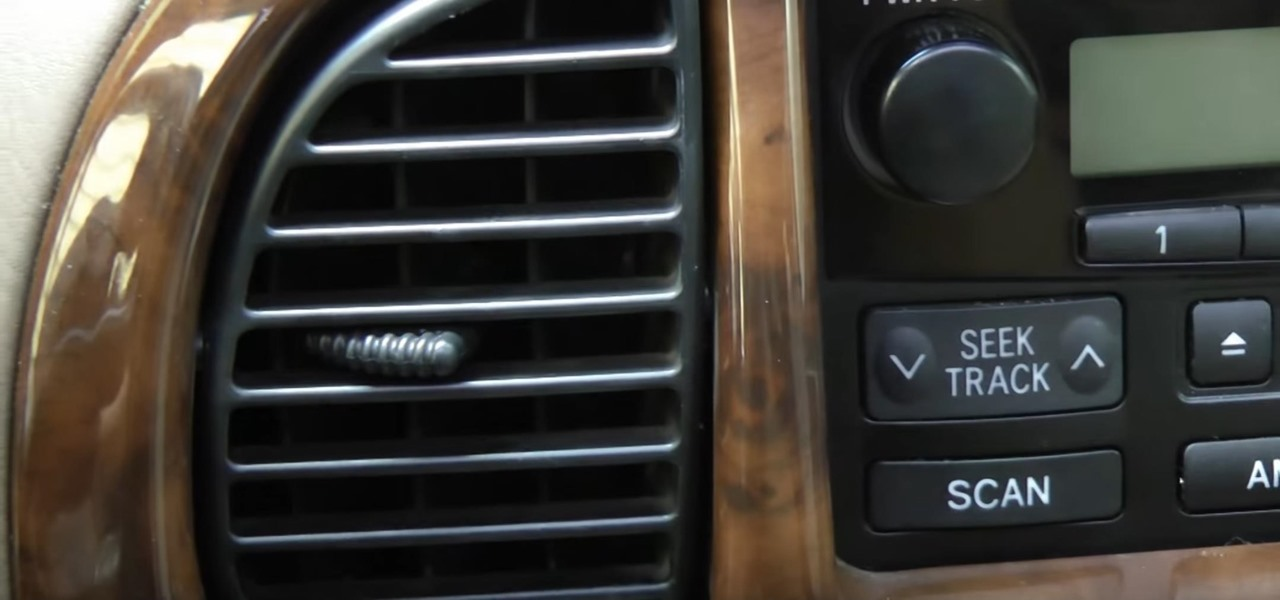 Use Lysol to Clean Bacteria Out of Your Car's Air Conditioning System