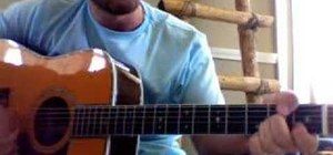"Play ""I Summon You"" by Spoon on acoustic guitar"