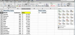 Manage Office themes when using Microsoft Excel 2011
