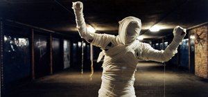 Make a mummy costume