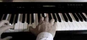 "Play ""Perfect Day"" by Lou Reed on piano"