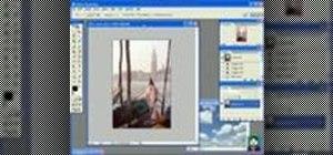 Practice The Gondola Photoshop tutorial