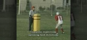 Use the Spin Move during football