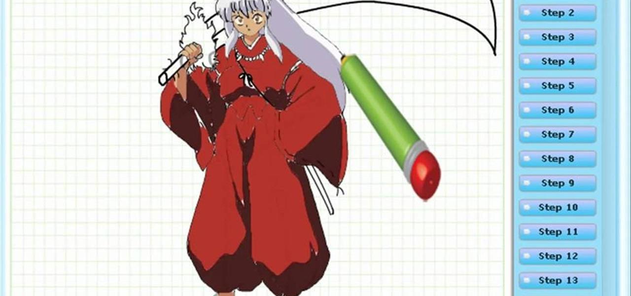 Draw InuYasha (Feudal Fairy Tale)