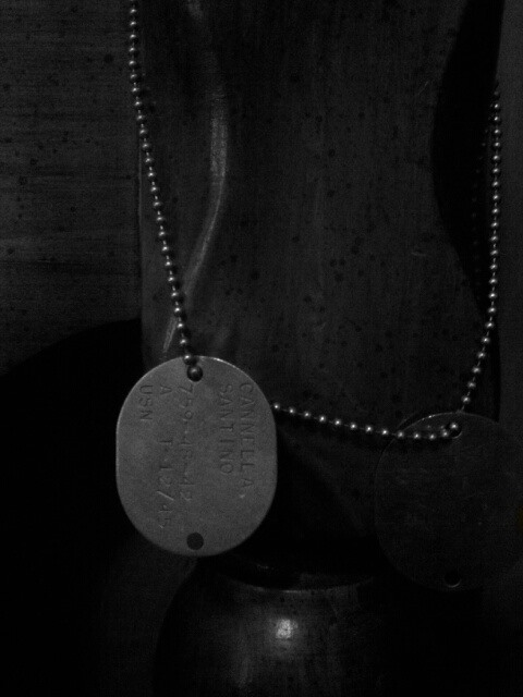 nostagia challege : my grandfathers ww2 dogtags