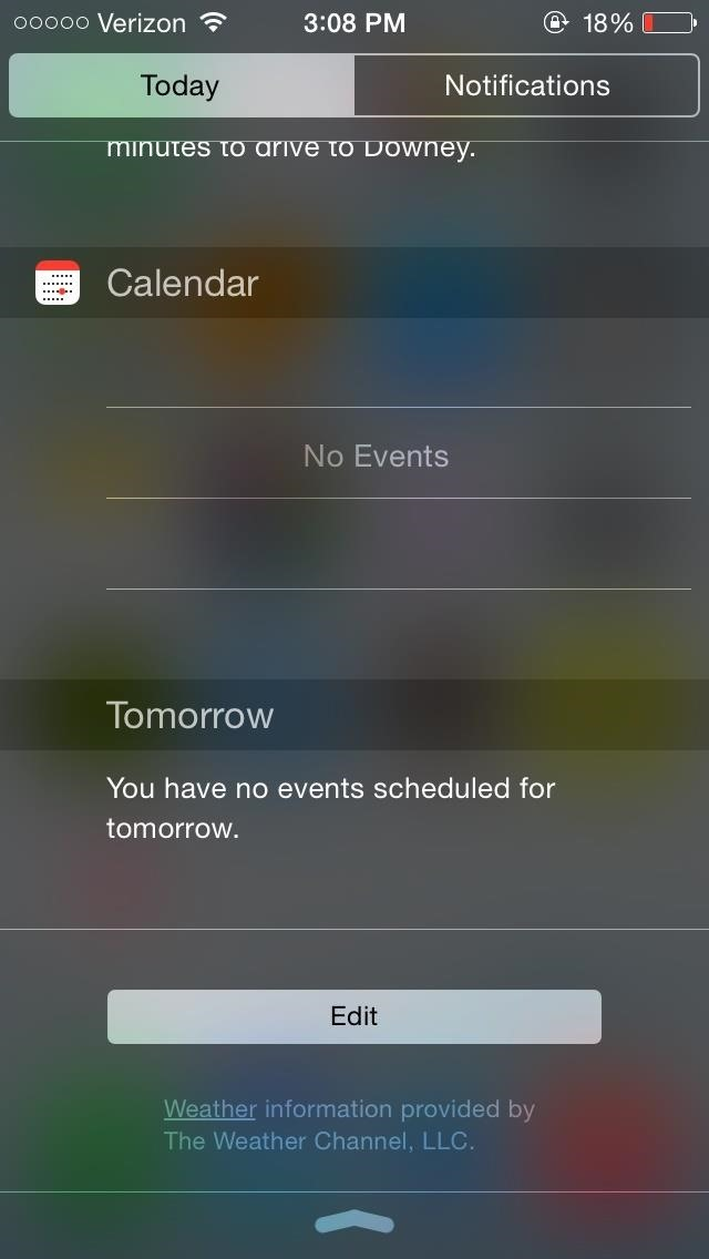 How to Add Widgets to Your iPhone's Notification Center in iOS 8