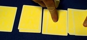 Perform the amzaing alternate beginner card trick