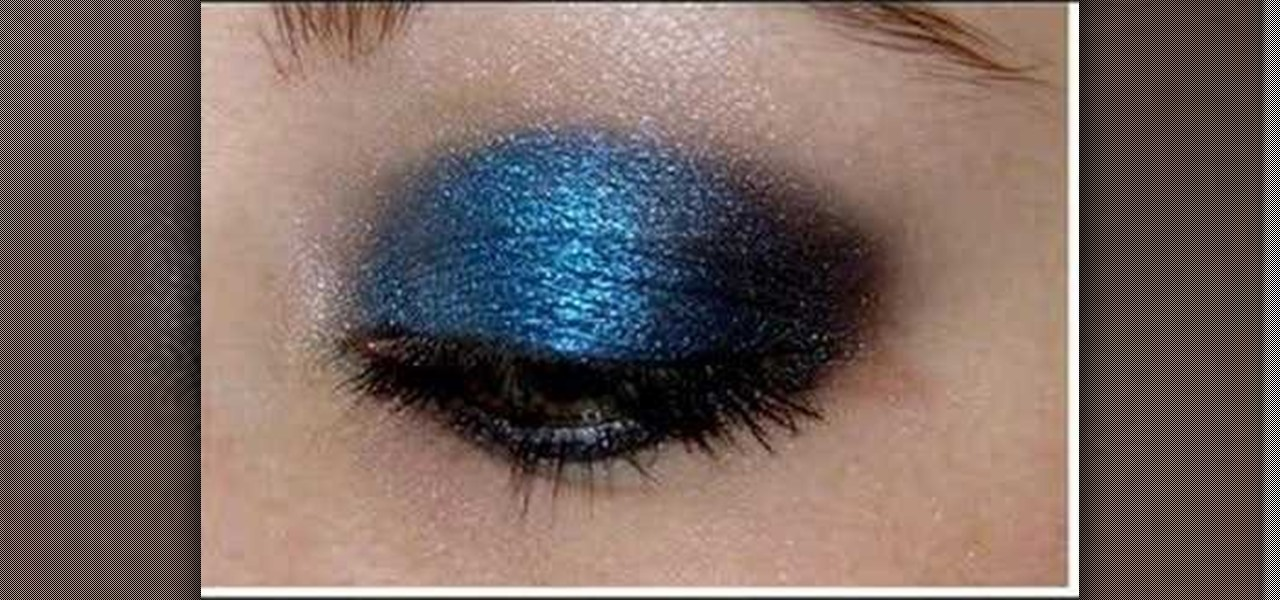 How To Apply Dark Blue And Black Eyeshadow Makeup Wonderhowto