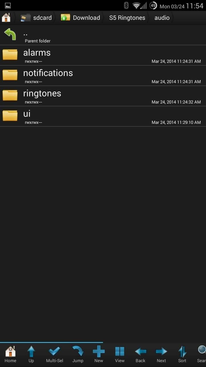 Samsung Galaxy S Notifications To Ring Once