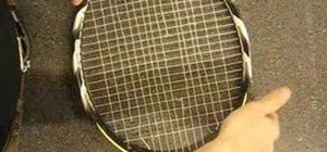 Diagnose the broken strings on your tennis racket