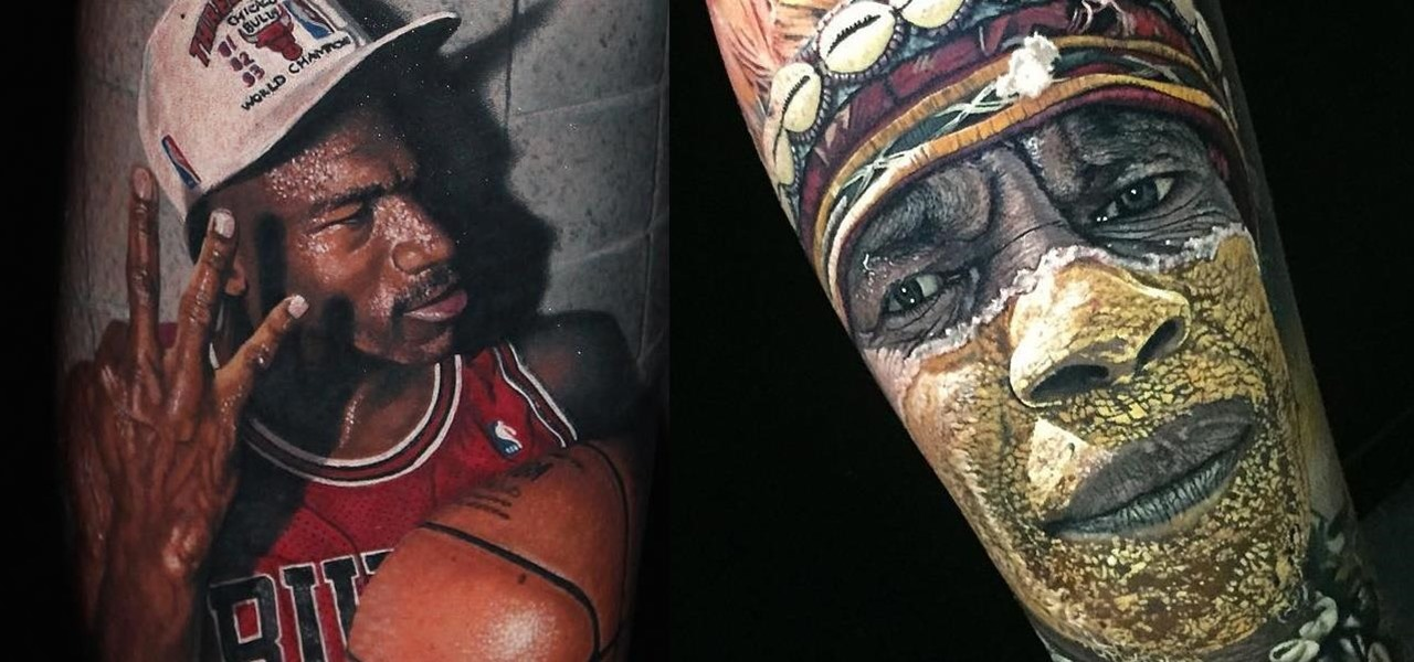 The Crazy, Hyper-Realistic Tattoos from Artist Steve Butcher