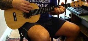 "Play ""Hey Soul Sister"" by Train on baritone ukulele"