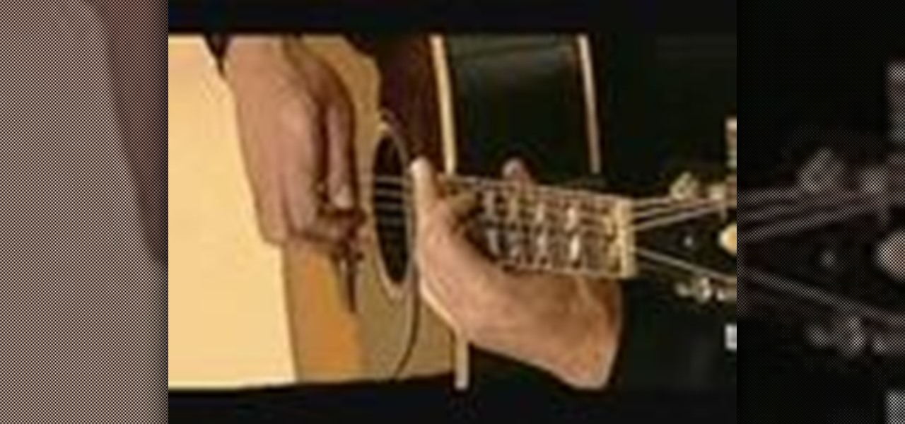 How To Play Classic Beatles Blackbird On Acoustic Guitar
