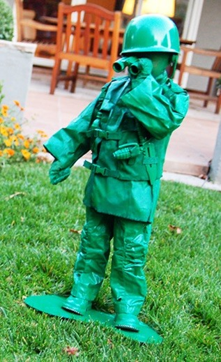 Diy toy soldier costume green army homemade costumes design home view