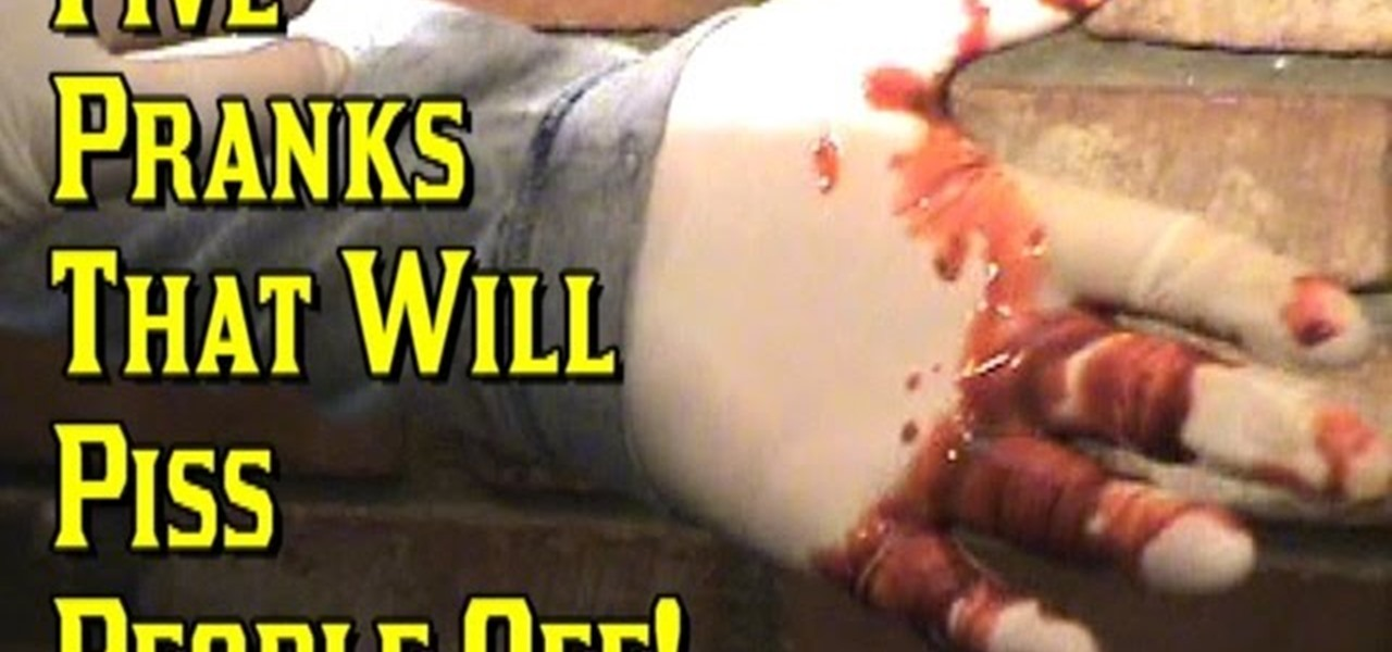 5 Pranks That Will Downright Piss People Off!