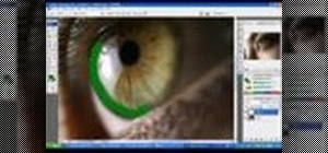 Change eye color using Photoshop CS3