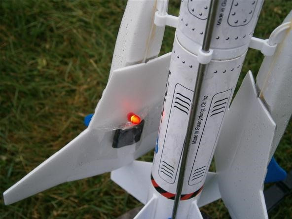 Galactic Invasion: How to Securely Embed Tracking Electronics into a Rocket