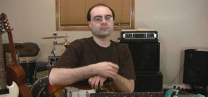 Use two-note chords when playing rhythm guitar