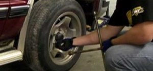 Change worn brake pads