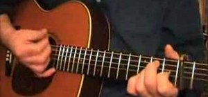 Use Delta blues-style strumming and picking on guitar