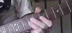Play the shuffle picking technique