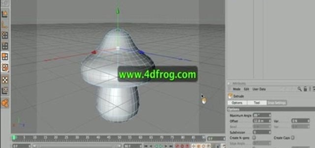 How To Create A 3d Model Of A Mushroom In Cinema 4d Cinema 4d