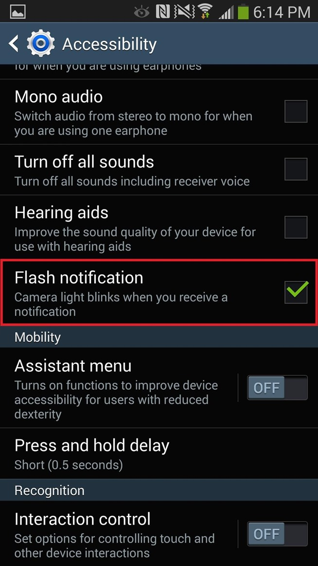 Set Flash Alerts for Phone Calls & Texts on Your Samsung Galaxy Note 3