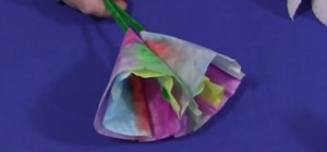 Make a Tie-Dye Coffee Filter Flower