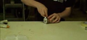 Make a homemade soda can pipe