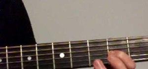 Learn the basic 12 bar blues on guitar