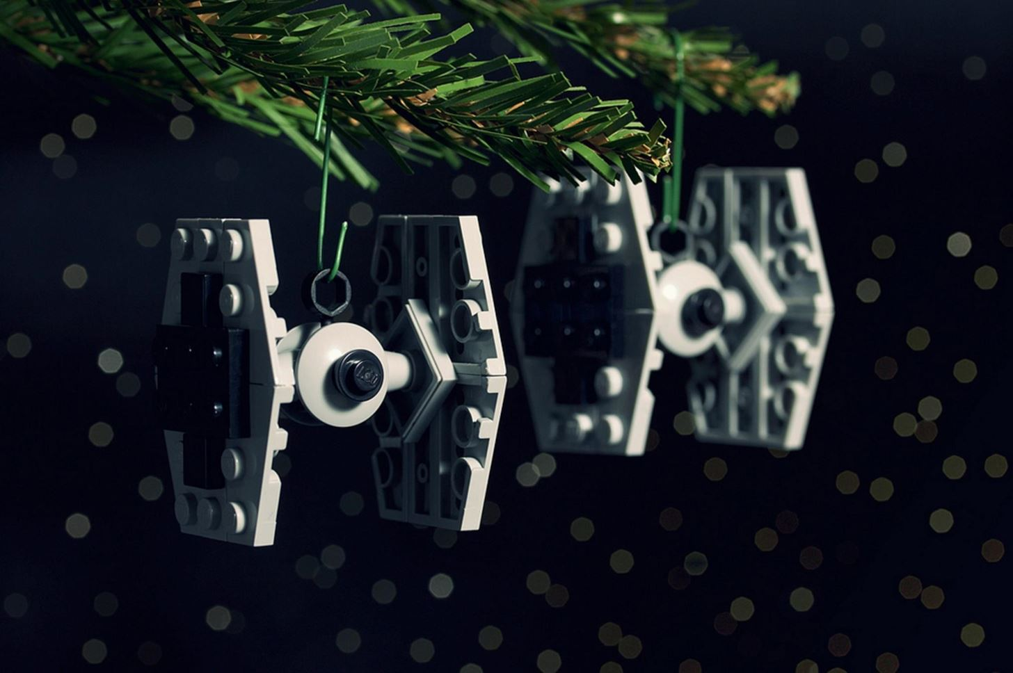 lego tie fighter ornament - Star Wars Christmas Decorations