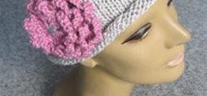 Knit a Decorative Flower