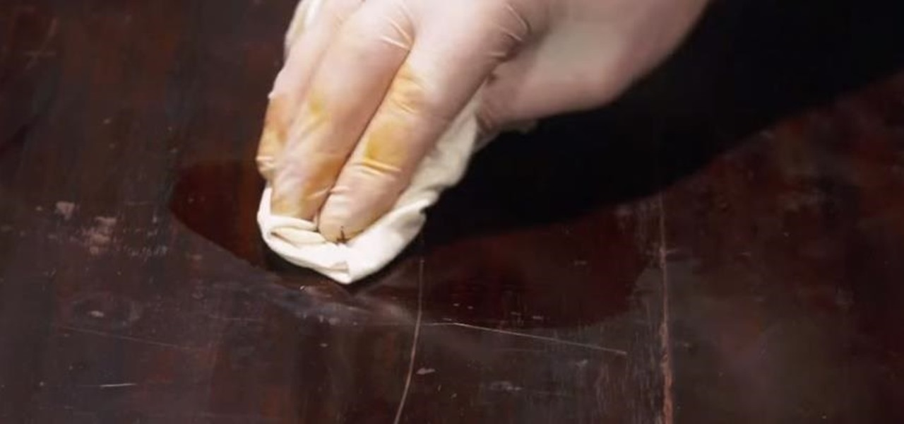 Remove a Scratch from an Antique Table