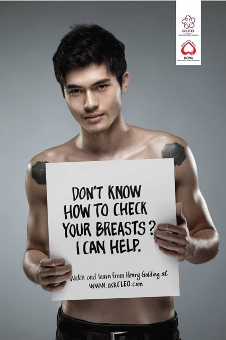 Controvesrial but very creative breast cancer ads