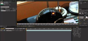 Use After Effects to stabilize a shaky video recording