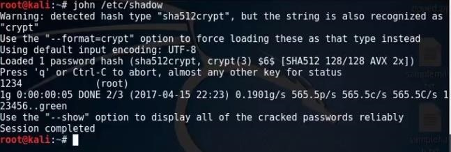 crack rar password kali linux