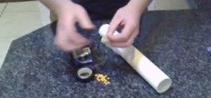 Make a condom gun