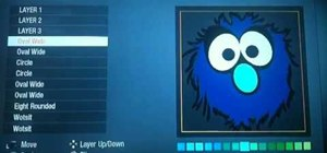 Make a Grover Muppet Call of Duty Black Ops player card / emblem