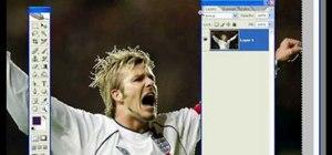 Turn David Beckham into Pop Art in Photoshop