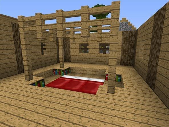 Wood shed designs xbox asplan for Minecraft floor designs