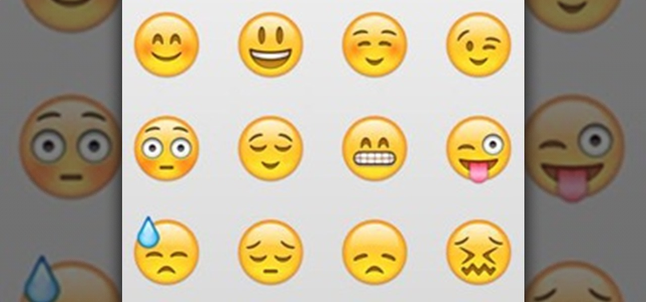 iphone emoticons | Walltowall blog