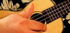 Playtremolo on the ukulele properly