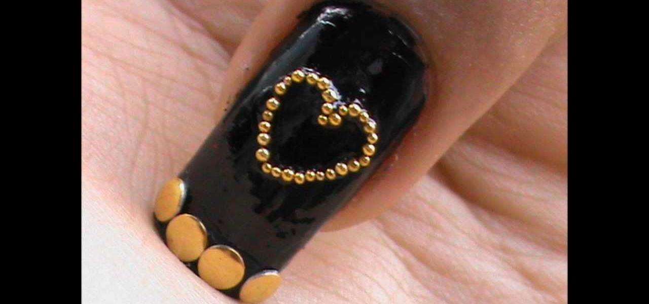 Do Cute Studded Nails
