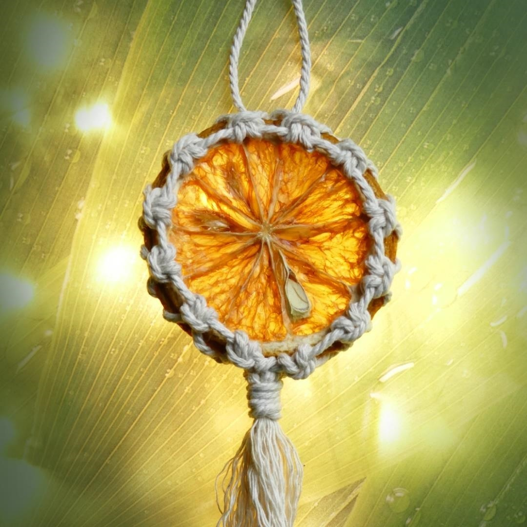 How to Make Eco-Friendly Citrus Ornaments