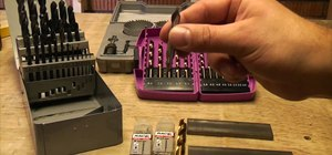 Find the best drill bits and use them in metal